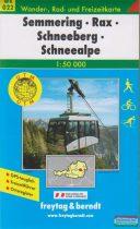 Semmering - Rax - Schneeberg - Schneealpe
