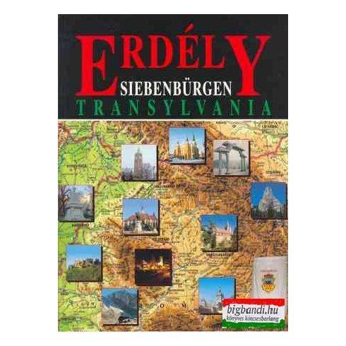 Erdély - Siebenbürgen - Transylvania (három nyelvű)