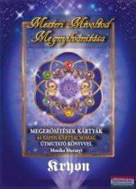 Monika Muranyi - Kryon: Mesteri Mivoltod Megnyilvánítása - Megerősítések Kártyák - 44 lapos kártyacsomag útmutató könyvvel