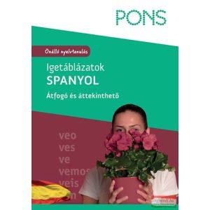 PONS Igetáblázatok - Spanyol - Átfogó és áttekinthető