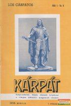 Kárpát - 1958 április I. évfolyam 4. szám