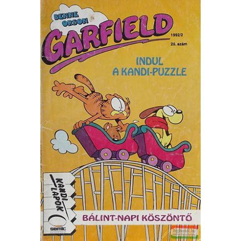 Garfield 1992/2. február  - Bálint-napi köszöntő/Színes képregény 26. szám