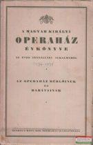 A Magyar Királyi Operaház évkönyve 1934-1935