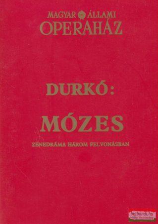 Mózes - Zenedráma három felvonásban