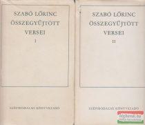 Szabó Lőrinc összegyűjtött versei I-II.