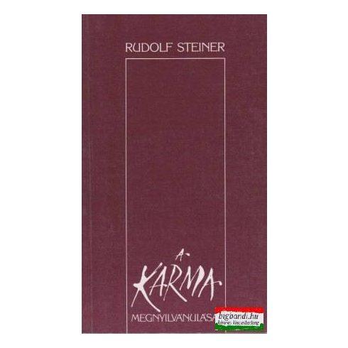 Rudolf Steiner - A karma megnyilvánulásai