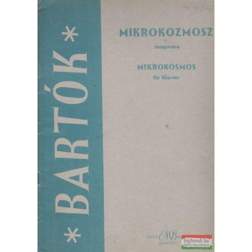 Mikrokozmosz zongorára V.