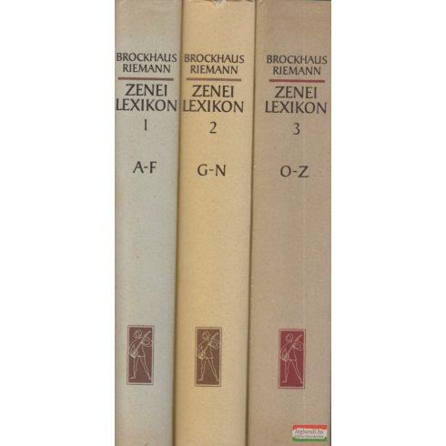 Hugo Riemann, Heinz Alfred Brockhaus - Zenei Lexikon 1-3.