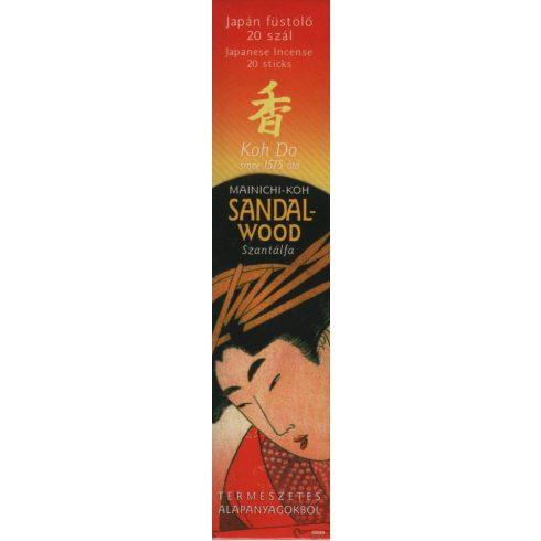 Mainichi-Koh szantálfa – Koh Do japán füstölő