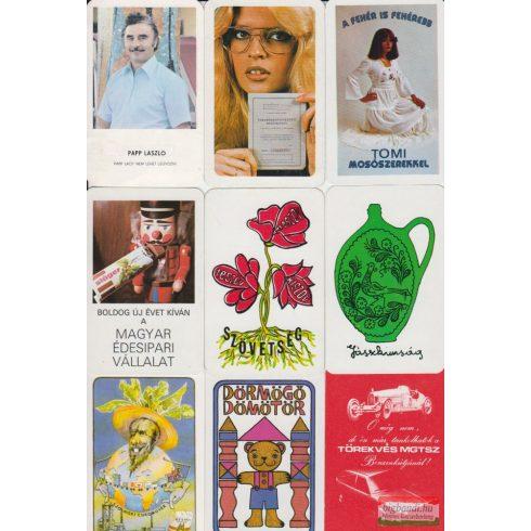 Kártyanaptárak - 1980. évi