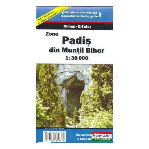 Zona Padis din Muntii Bihor 1:30000 térkép