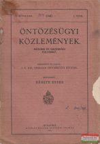 Öntözésügyi közlemények - Műszaki és gazdasági folyóirat II. évfolyam 1940./1.