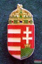Kitűző - koronás címer 23 mm