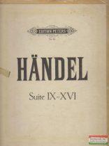 Kompositionen für klavier von G. F. Handel - Suite IX-XVI.