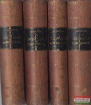 Mommsen Tivadar - A rómaiak története I-VIII. (4 kötetbe kötve)