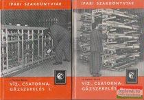 Víz-, csatorna-, gázszerelés I-II.