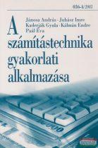 A számítástechnika gyakorlati alkalmazása - 036-A/2003