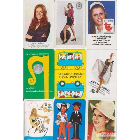 Kártyanaptárak - 1973. évi