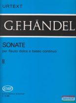 Sonate per flauto dolce e basso continuo II.