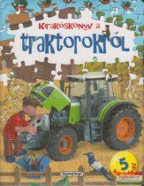 Kirakóskönyv a traktorokról - 5 kirakóval