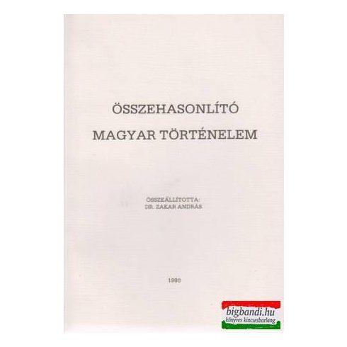 Összehasonlító magyar történelem