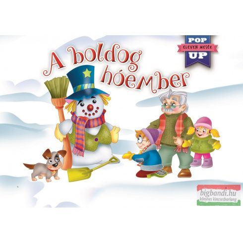 A boldog hóember - Eleven mesék - Pop-up