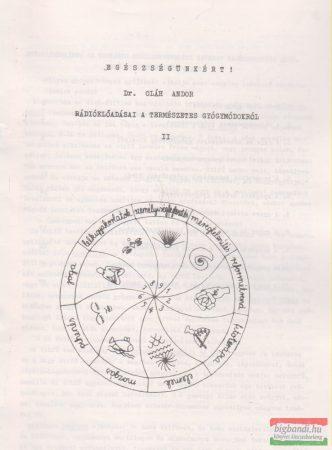 Egészségünkért! - Dr. Oláh Andor rádióelőadásai a természetes gyógymódokról II.