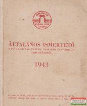 Általános ismertető Magyarország üdülési, nyaralási és sportolási lehetőségeiről - 1943