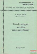 Francia-magyar tematikus szókincsgyűjtemény