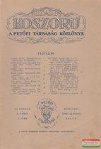 Koszorú - A Petőfi Társaság Közlönye / Új folyam V. kötet 1. szám