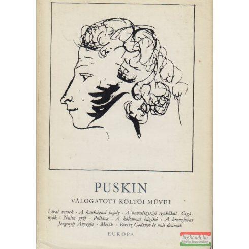 Puskin válogatott költői művei