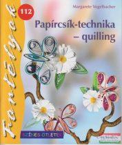 Papírcsík-technika - quilling