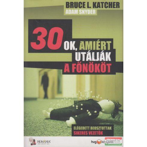 Bruce L. Katcher, Adam Snyder - 30 ok, amiért utálják a főnököt