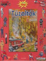 Tűzoltók - 8 puzzle