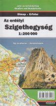 Az erdélyi Szigethegység 1:200000 - Táj- és útleírás, várostérképek