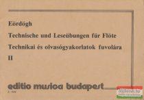 Eördögh János - Technikai és olvasógyakorlatok fuvolára II.