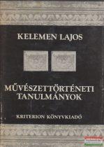 Kelemen Lajos - Művészettörténeti tanulmányok