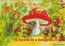 Radvány Zsuzsa rajz. - A tücsök és a hangyák - leporello
