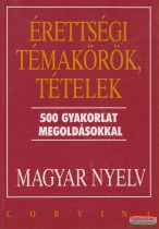 Balázs Géza - Érettségi témakörök, tételek - Magyar nyelv