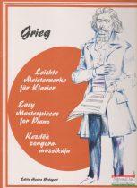 Grieg - Kezdők zongoramuzsikája