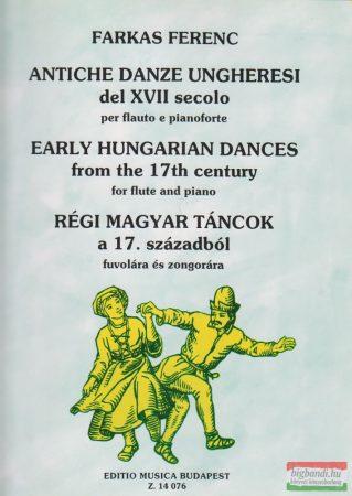 Régi magyar táncok a 17. századból - fuvolára és zongorára