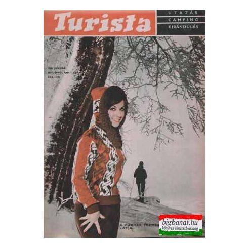 Turista magazin 1968-1969 (egybekötbe)