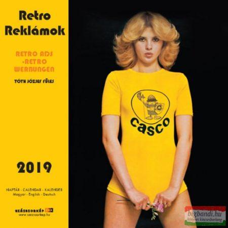 Retro Reklámok falinaptár 2019
