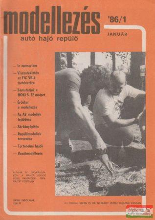 Modellezés XXVIII. évfolyam, 1986/1.4.7.8.11.12.szám