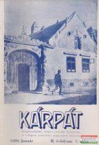 Kárpát - 1959 január II. évfolyam 1. szám