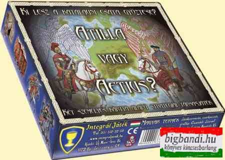Atilla vagy Aetius? - Társasjáték