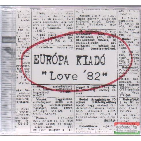 Európa Kiadó: Love 82 CD