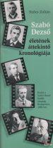 Szőcs Zoltán - Szabó Dezső életének áttekintő kronológiája