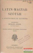 Latin-magyar szótár