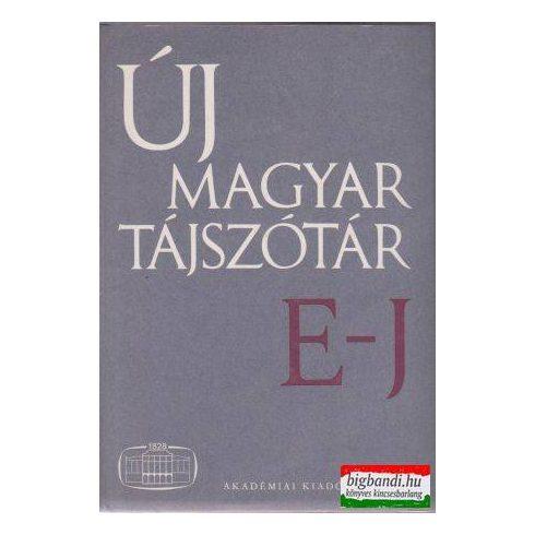 Új magyar tájszótár E-J